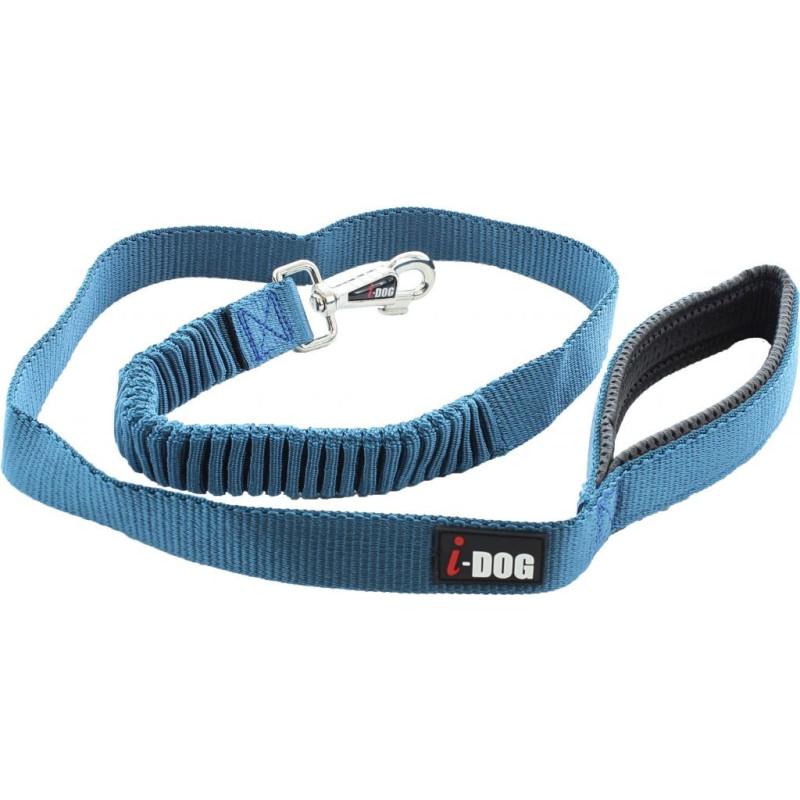 Laisse I-DOG confort élastique