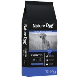 Croquettes Nature Dog Essentiel 26/16