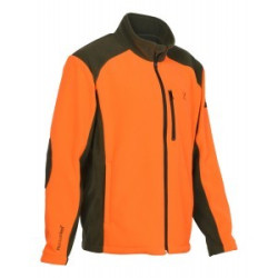 Blouson Polaire Cor Brodé Orange/Kaki Percussion