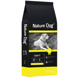 Croquettes Nature Dog Light 15 Kg