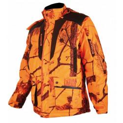 Veste matelassée camouflage orange - Somlys