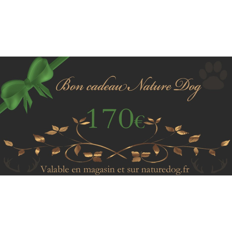 Bon cadeau Nature Dog