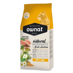 Croquettes chat Classic Daily Care Ownat 4kg