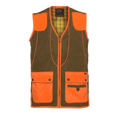 Gilet Cévrus Club Interchasse Orange