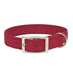 Collier Confort Nylon Bordeaux