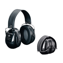 Casque Peltor Bull's eye II - Pliable - Noir
