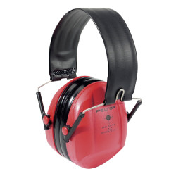 Casque Peltor Bull's Eye I - Pliable - Rouge
