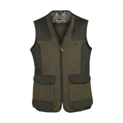Gilet de Chasse Percussion Tradition Brodé