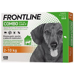 Frontline Combo chiens moyens 2-10 kg 6 pipettes