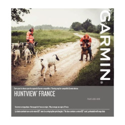 Cartes Garmin HuntView Maps (6 zones régionales)