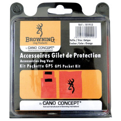 Kit pochette GPS / Bipper gilet protection Browning