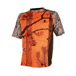 T-shirt Somlys manche courte - camouflage orange