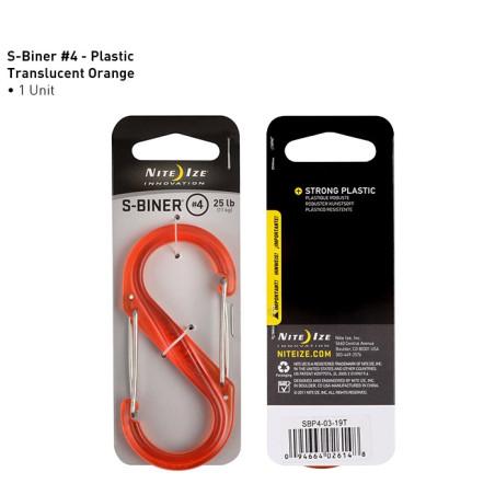 Double mousqueton S-Biner Plastic Nite Ize