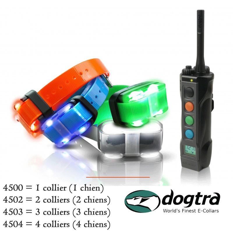 Collier de dressage 4500 Edge Dogtra - 1 à 4 chiens