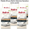 Palette Bab'in Selective Senior Sensitive Poulet 18 sacs 12kg