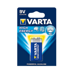 Piles alcaline 9 volts Varta High Energy