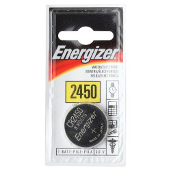 Pile CR2450 3 volts Energizer