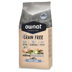Croquettes Just Grain Free Adult Lamb Ownat 14 kg