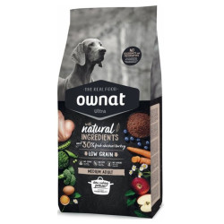 Croquettes Ultra Medium Adult Ownat 14kg