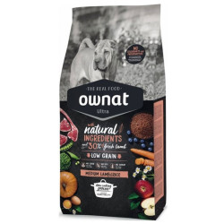 Croquettes Ultra Medium Lamb&Rice Ownat 14kg