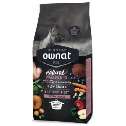 Croquette Ultra Medium Junior Ownat 14kg