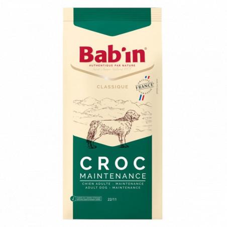 Croquettes chien Bab'in Classic Croc Maintenance 15 Kgs