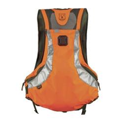 Sac à dos / gilet Riserva orange 2019 pour conducteur de chien de sang