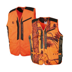 Gilet anti-ronce Camo orange Somlys