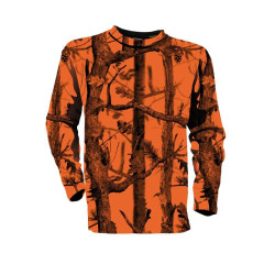 T-Shirt Manches Longues Fluo GhostCamo Percussion