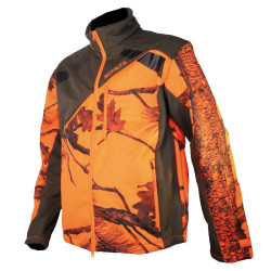 Veste Softshell camouflage orange Somlys