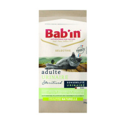Croquettes chat Bab'in Selective Adulte Urinaire 2Kg