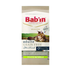 Croquettes chat Bab'in Selective Grain Free Poulet