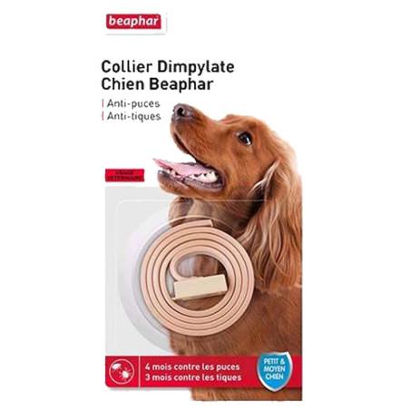 Collier Dympilate chien Beaphar anti-puces et tiques
