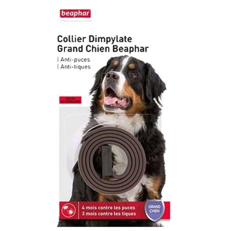 Collier Dympilate grand chien Beaphar anti-puces et tiques