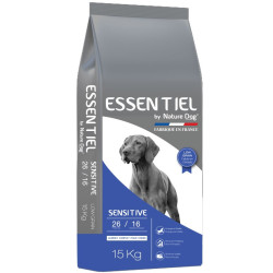 Croquettes Essentiel Sensitive 26/16 Low Grain Nature Dog 15kg
