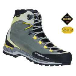 Chaussures Trango Tech Leather GTX La Sportiva Black/Yellow
