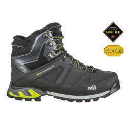 Chaussures High Route GTX Millet Black / Acide Green