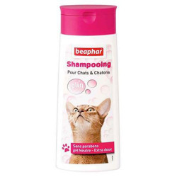 Shampoing doux chat et chaton Beaphar