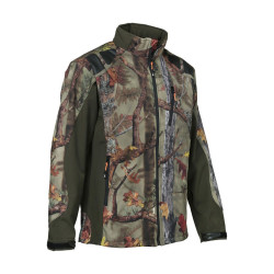 Blouson Softshell GhostCamo Forest Percussion