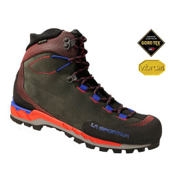 Trango Tech Leather GTX La Sportiva Carbon/goji