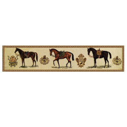 Boudin 3 chevaux selles Lovergreen
