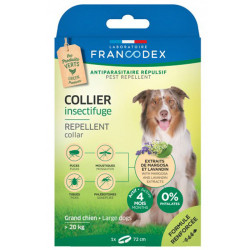 Collier Insectifuge pour grands chiens Francodex