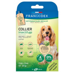 Collier Insectifuge pour chiens moyens Francodex