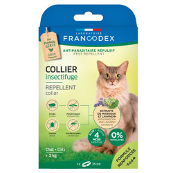 Collier Insectifuge pour chats Francodex