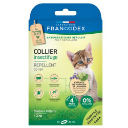 Collier Insectifuge pour chatons Francodex