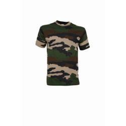 T-shirt camo Percussion