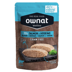 Aliment humide pour chat Salmon & Herring Ownat