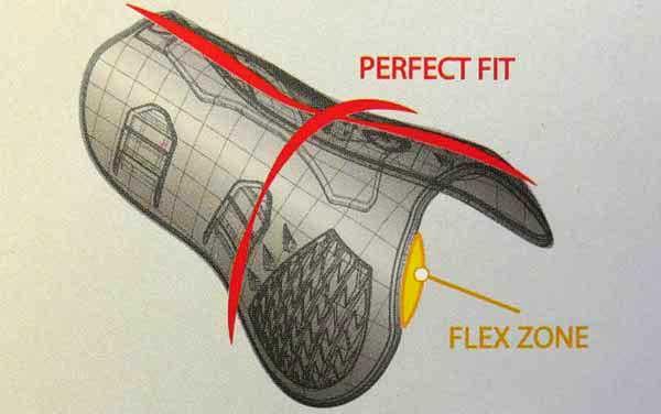 Perfect Fit guêtres Carbon Air tendon Zandona