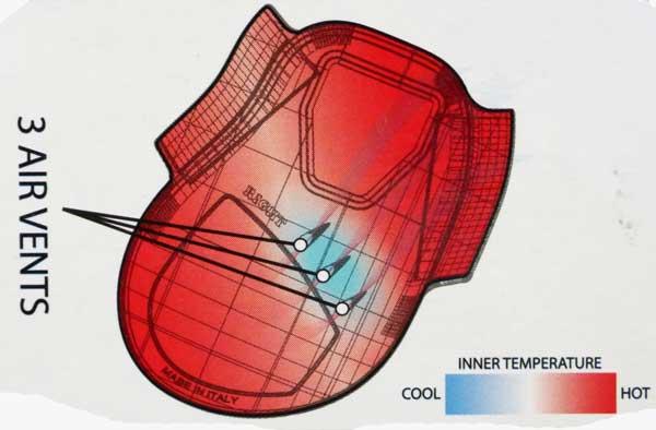 ventilation protège-boulet Carbon Air Tendon