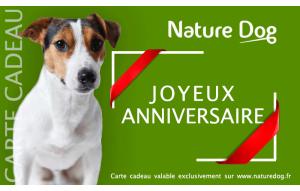 Joyeux anniversaire Nature Dog